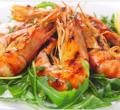 Linka na varenie a chladenie kreviet a morských plodov