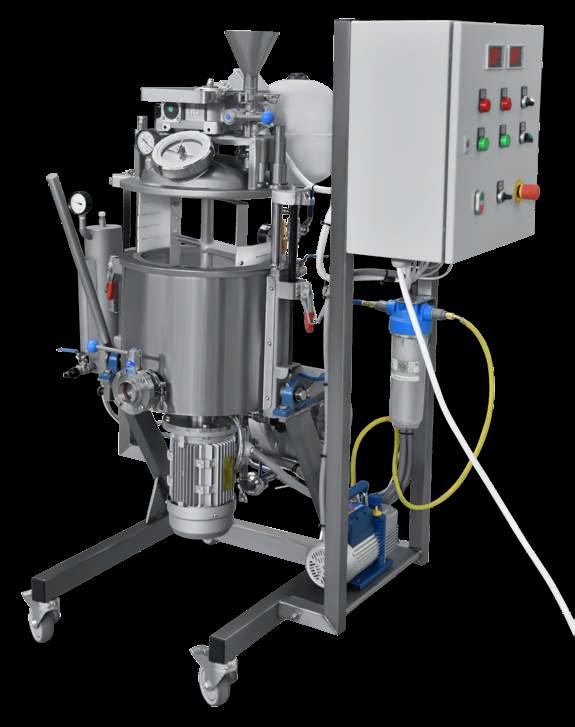 vacuum processing plant Pilot