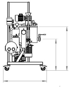 Vacuum mixer - NORMIT schema
